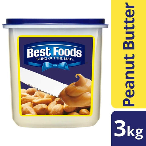 Best Foods Peanut Butter (4x3Lkg) - LimSiangHuat