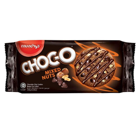 CHOC-O Mixed Nuts Chocolate Chip Cookies 24x125g - LimSiangHuat