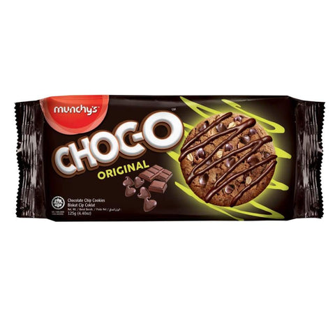 CHOC-O Original Chocolate Chip Cookies 24x125g - LimSiangHuat