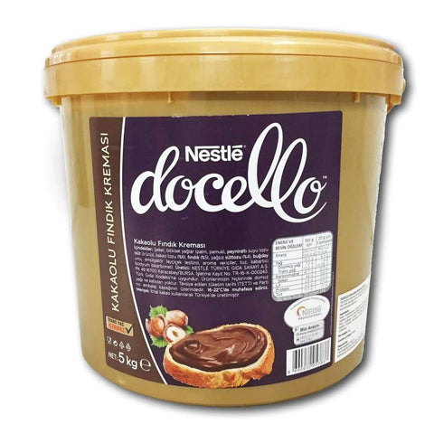 Chocolate Hazelnut Spread Nestle Docello 5kg - LimSiangHuat