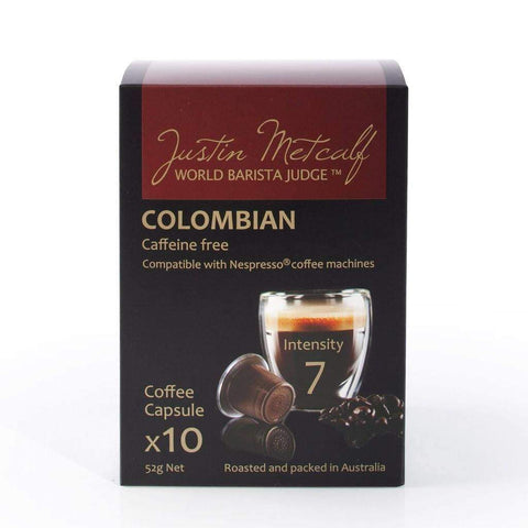 Colombian Decaf Capsules - Justin Metcalf 12x10's - LimSiangHuat