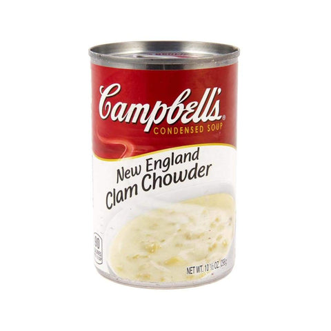 Condensed Soup Clam Chowder New England Campbells - LimSiangHuat