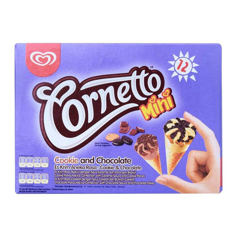 Cornetto Mini Cookies & Chocolate 6x12x28ml - LimSiangHuat