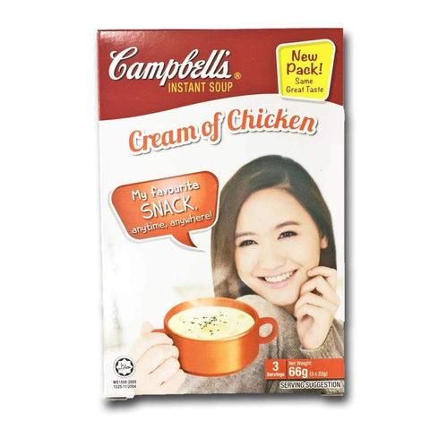 Cream of Chicken Instant Soup Campbells (3's x 22g) - LimSiangHuat