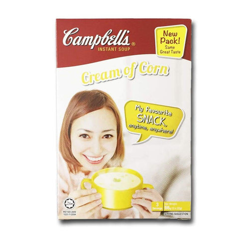 Cream of Corn Instant Soup Campbells (3's x 22g) - LimSiangHuat