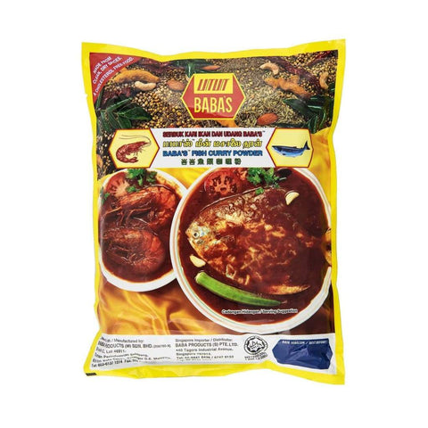 Curry Powder Fish  - Babas 10x1kg - LimSiangHuat