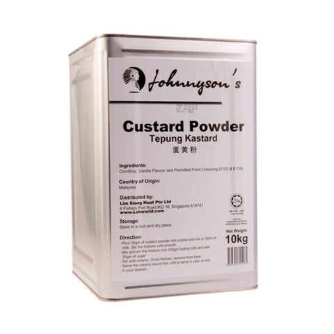 Custard Powder Johnnyson's 10kg - LimSiangHuat