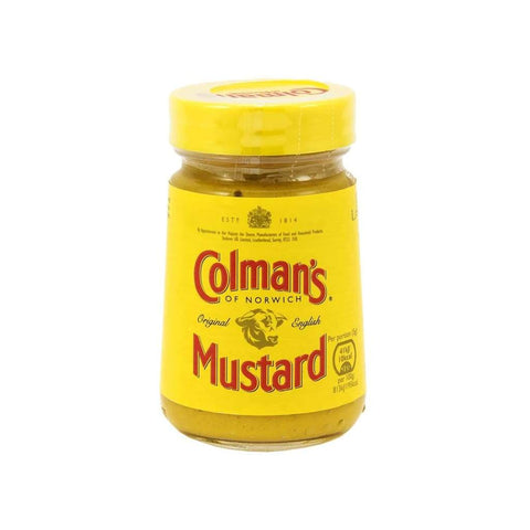 English Prepared Mustard - Colman's 100g - LimSiangHuat