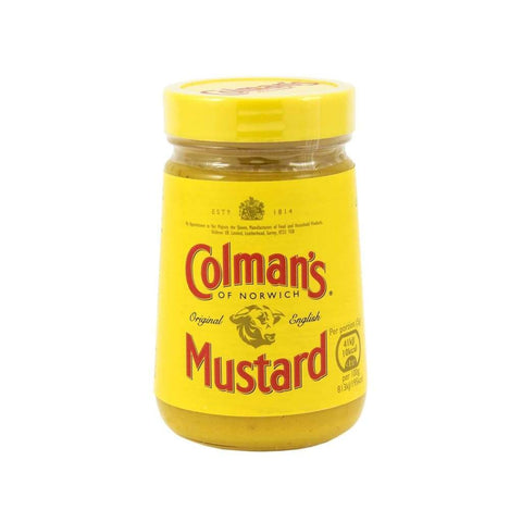 English Prepared Mustard - Colman's 170g - LimSiangHuat