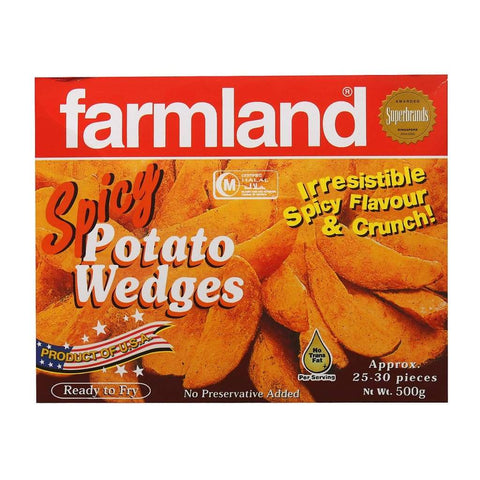 Farmland Spicy Wedges 12x500g - LimSiangHuat