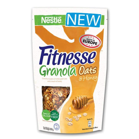 Fitnesse Granola Honey Cereal Nestle 300g - LimSiangHuat