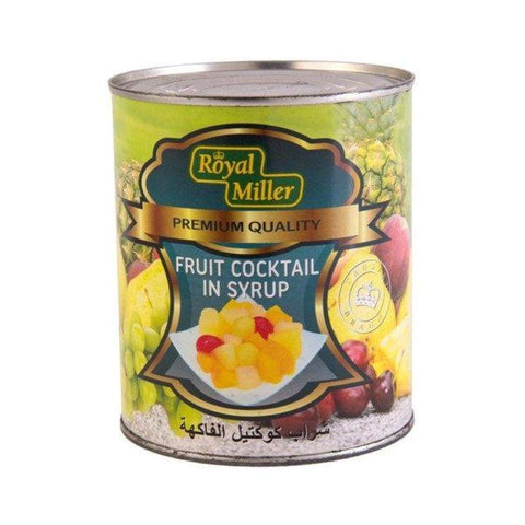 Fruit Cocktail Royal Miller (24X825G) Canned Fruits
