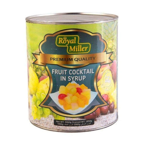 Fruit Cocktail Royal Miller (6X3.06Kg) Canned Fruits