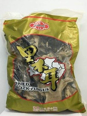 Fungus Black Large 1Kgpkt Dried Foods