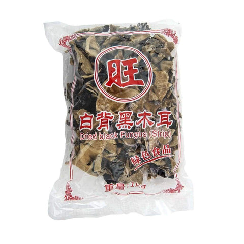 Fungus Black Strip/slice - Lsh 1Kgpkt Dried Foods