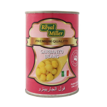 Garbanzo Beans Royal Miller/ciao 415Gtin Canned Vegetable