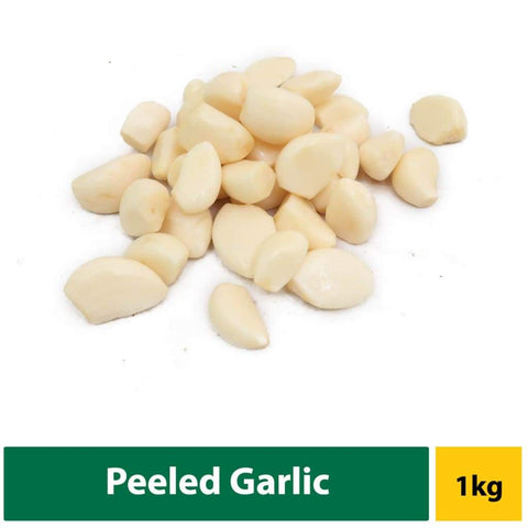 Garlic Peeled 1Kg Fresh Vegetable