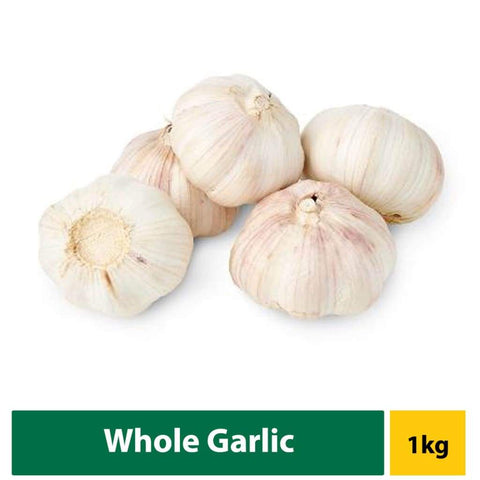 Garlic Whole 1Kg Fresh Vegetable