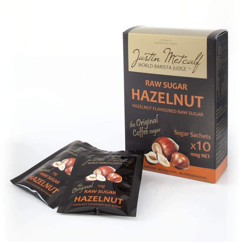 Hazelnut Sugar - Justin Metcalf 10X10G Coffee