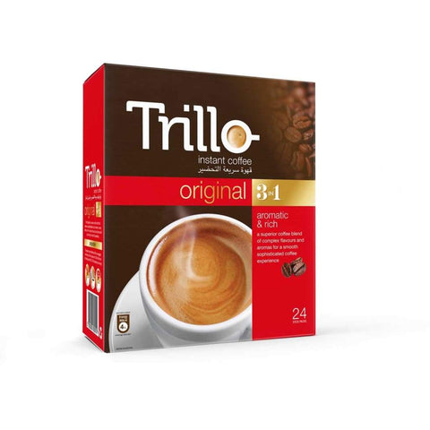 Instant Coffee Original 3-In-1 Trillo 24X(24Sx20G)