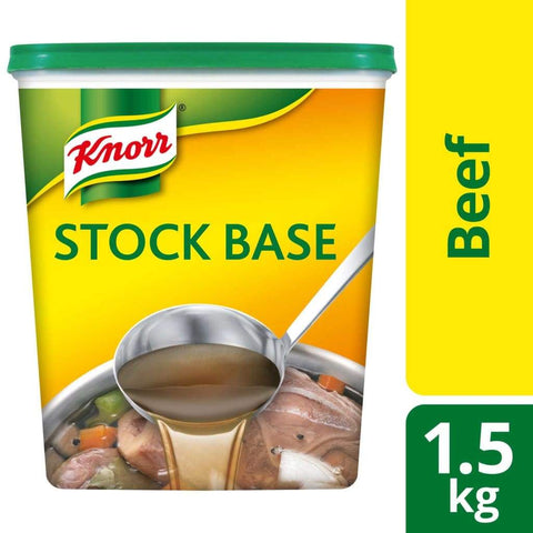 Knorr Beef Stock Base (6X1.5Kg) Sauce
