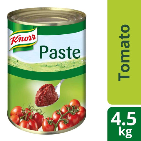 Knorr Tomato Paste (3X4.5Kg) Canned Vegetable