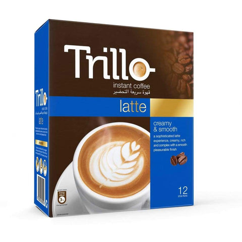 Latte Trillo 24X(12Sx17G) Coffee
