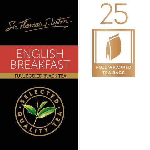 Lipton Sir Thomas English Breakfast 6X(25Sx2.4G) Tea