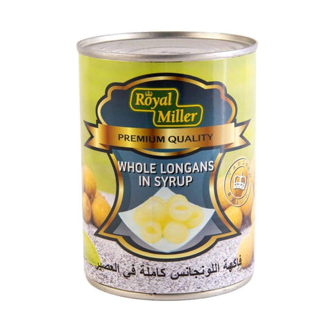 Longan In Syrup Royal Miller (24X565G) Canned Fruits