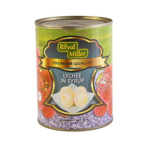 Lychee In Syrup Royal Miller (24X567G) Canned Fruits