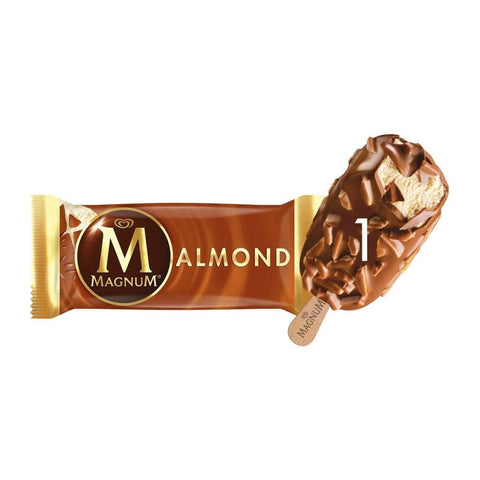Magnum Almond Amber Stick 20X120Ml Ice Cream