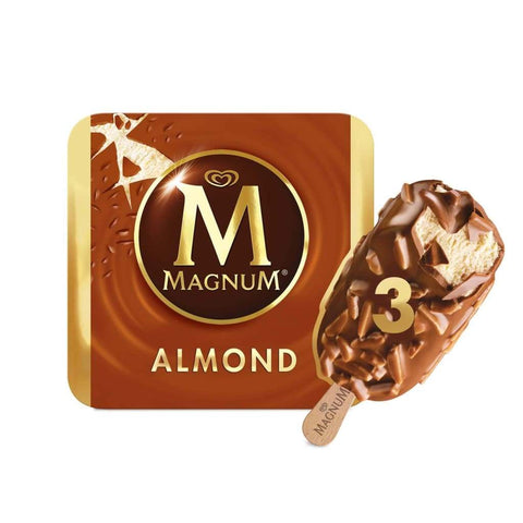 Magnum Almond Multipack 10X(3X110Ml) Ice Cream