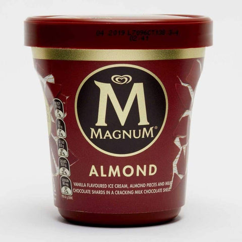 Magnum Almond Vanilla 8X440Ml Ice Cream