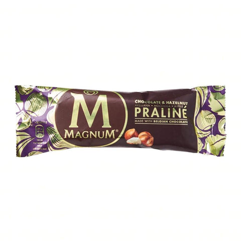 Magnum Hazelnut Praline Stick 20X90Ml Ice Cream