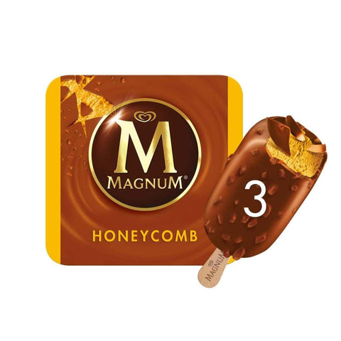 Magnum Honey Comb Multipack 10X(3X110Ml) Ice Cream