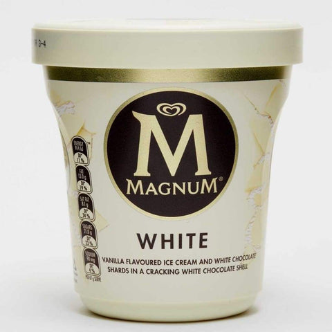 Magnum White Vanilla 8X440Ml Ice Cream