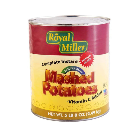 Mashed Potato Royal Miller 2.49Kg Canned Vegetable