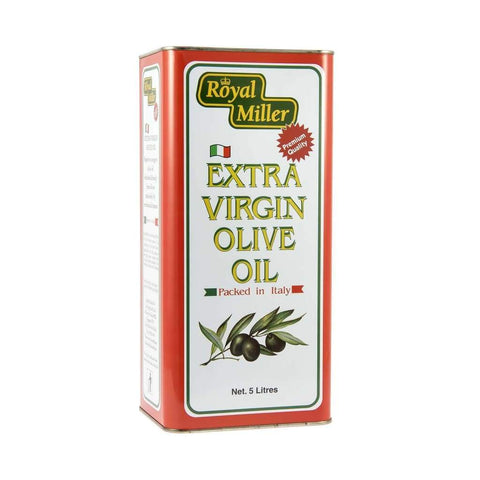 Olive Oil Extra Virgin Royal Miller 5L