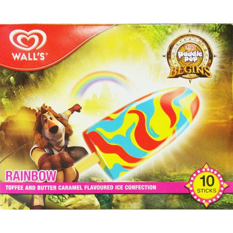 Paddle Pop Begin Rainbow Multipack 6X(10X60Ml) Ice Cream