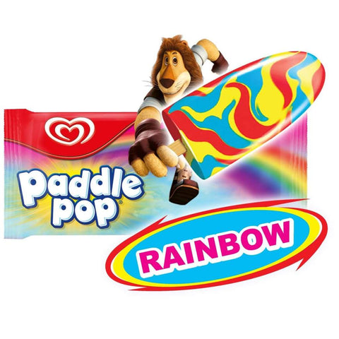 Paddle Pop Rainbow Sticks 36X60Ml(54G) Ice Cream