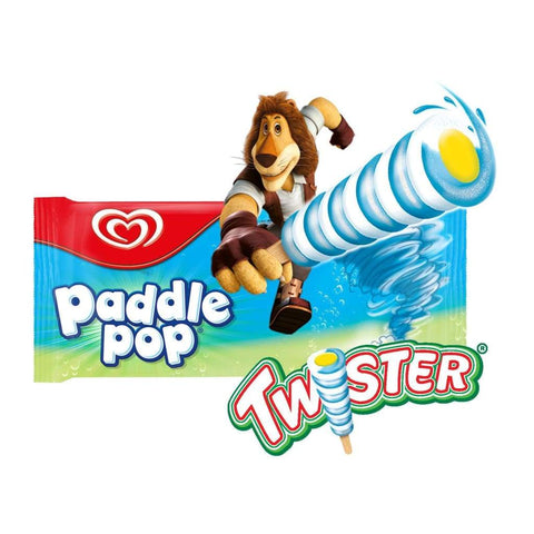 Paddle Pop Twister 36X53G(60Ml) Ice Cream