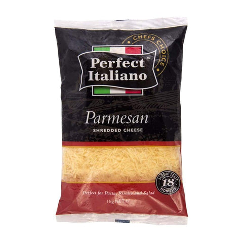 Perfect Italiano Parmesan Shredded - 6X1Kg Dairy