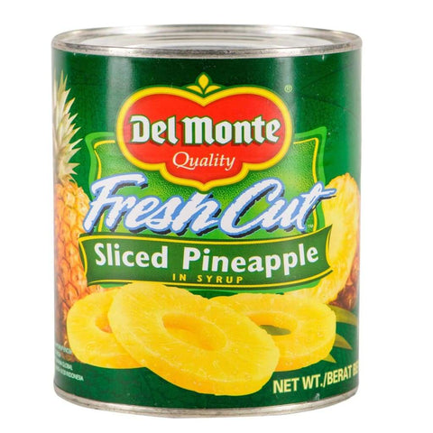 Pineapple Sliced Del Monte (24X567G) Canned Fruits