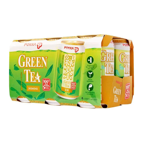Pokka Jasmine Green Tea 24 X 300Ml Juice Drink