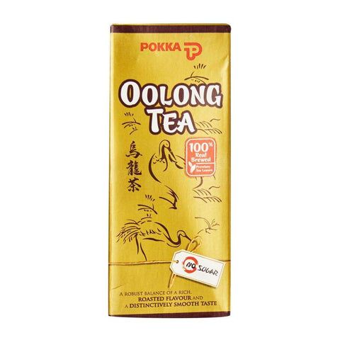 Pokka Oolong Tea Tetra Pack 6X4X250Ml Juice Drink