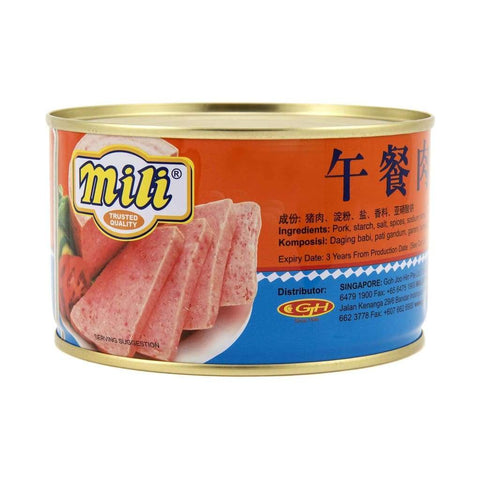 Pork Luncheon Meat - Mili 24X397G Canned Meat/seafood