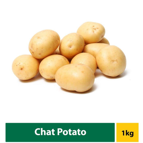 Potato Chat (White Washed ) 1Kg Fresh Vegetable