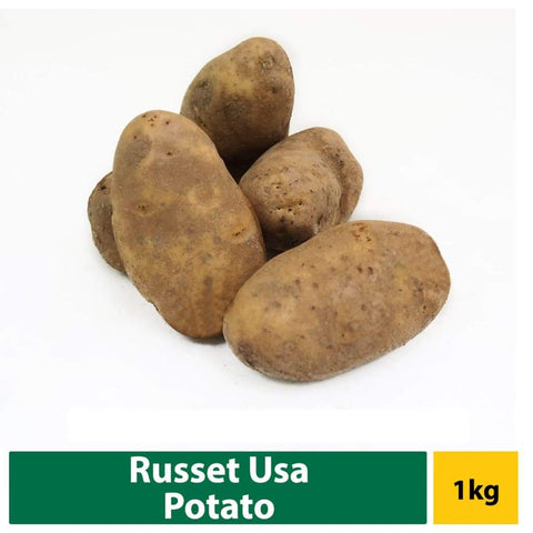 Potato Russet Usa (110S) 1Kg Fresh Vegetable