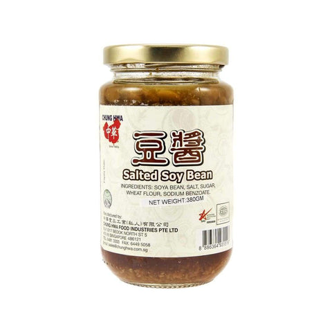Preserved Salted Soy Bean -Chung Hwa 12X380G Pickles