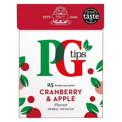 Pyramid Infusion Cranberry Apple Pg Tips 4X47.5G Tea
